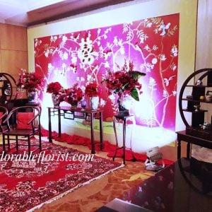 Tea ceremony chinoisery theme