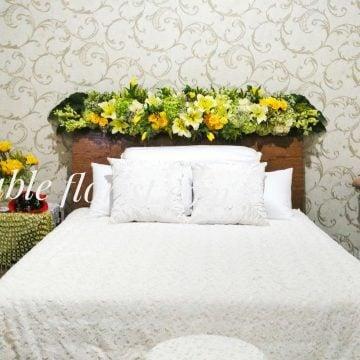 Bridal room arrangement