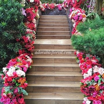 Arrangement outdoor staircase