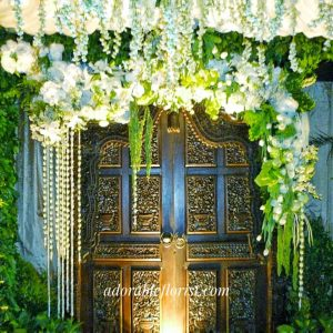 Arrangement for akad nikah