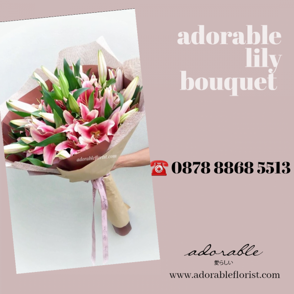 bunga bouquet besar