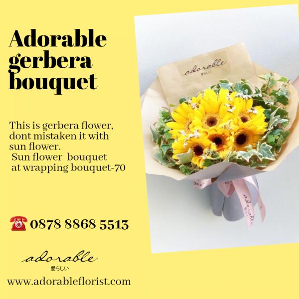 harga buket bunga asli untuk wisuda