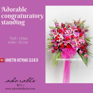 bunga ucapan selamat menikah