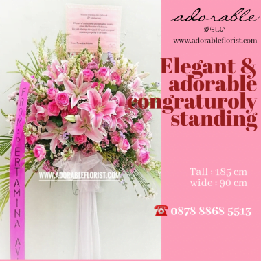 toko bunga murah standing