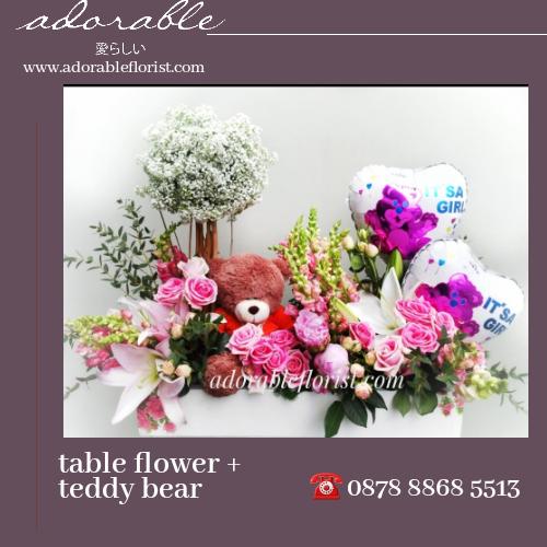 karangan bunga untuk kelahiran bayi