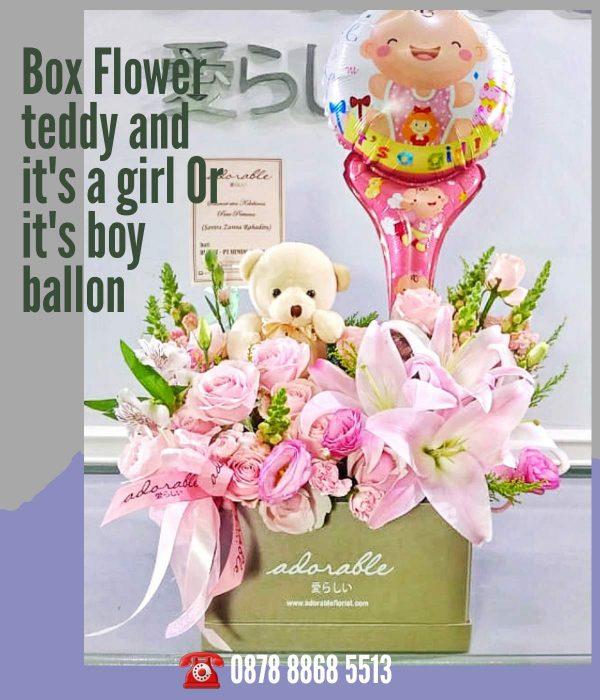 jual bunga untuk bayi 6 bulan
