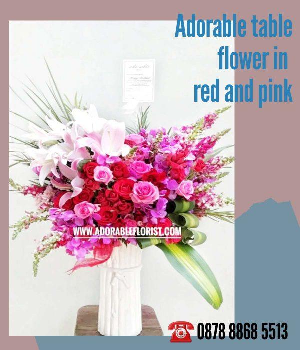 vas bunga untuk meja tamu