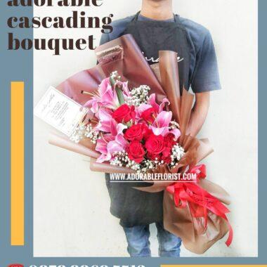 hadiah bouquet untuk ibu