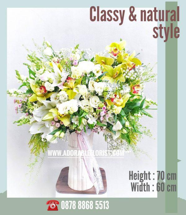 pusat jual bunga segar di jakarta