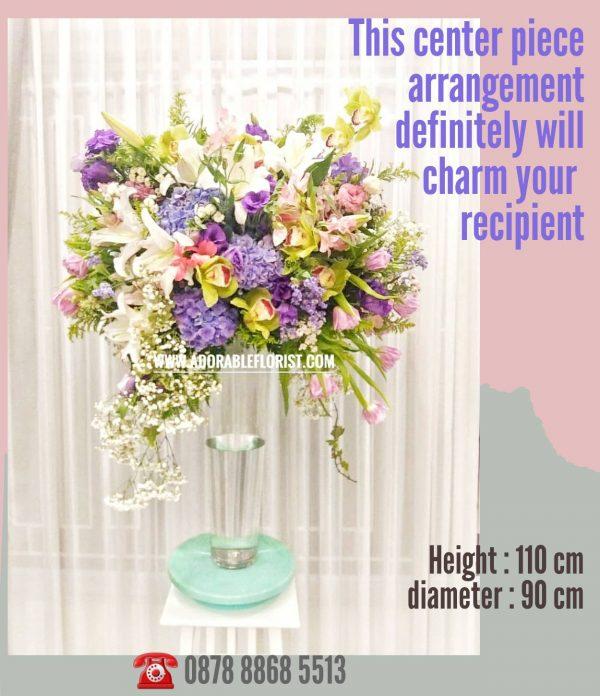 table flower bouquet