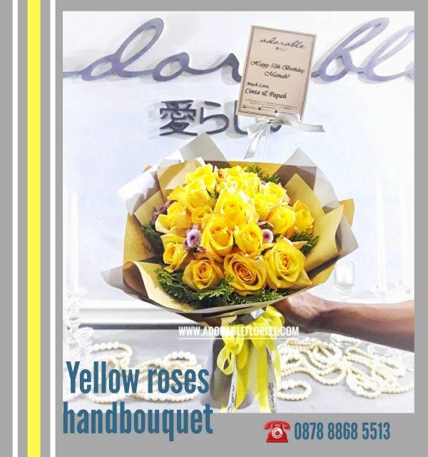 bouquet bunga tangan