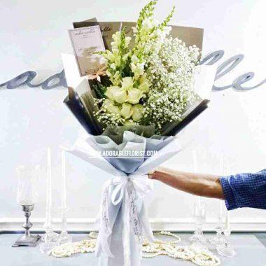 bouquet tangan pengantin