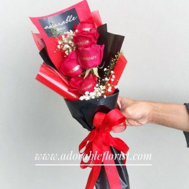 adorable congrats bouquet