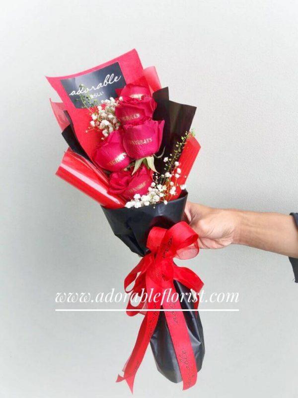 adorable congrats bouquet