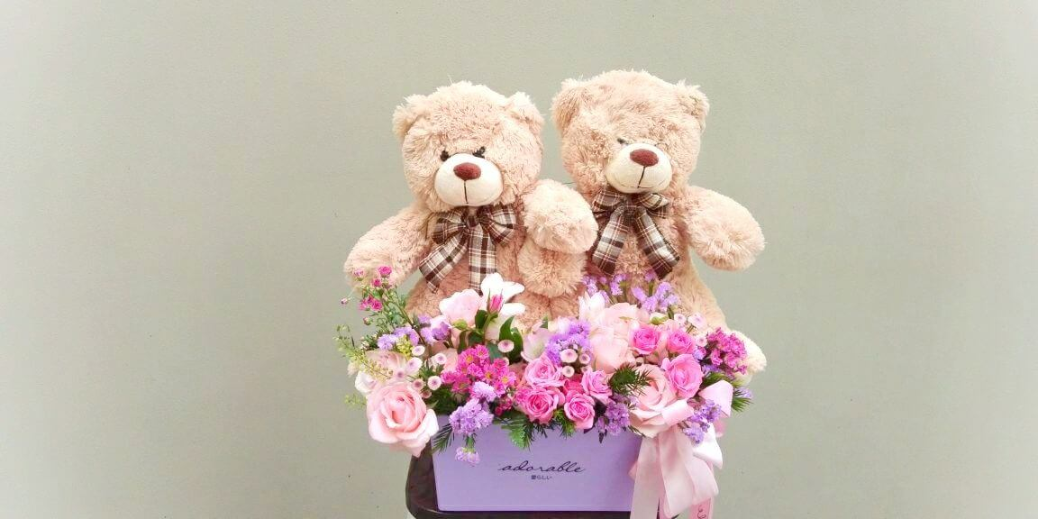 flower & bear 05 b