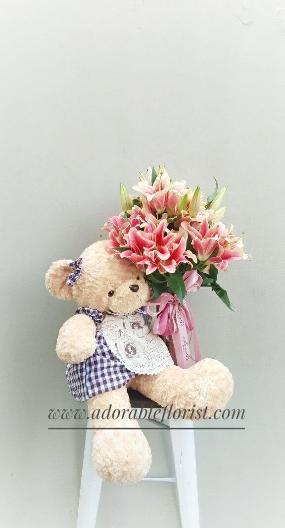 flower & bear 06 a
