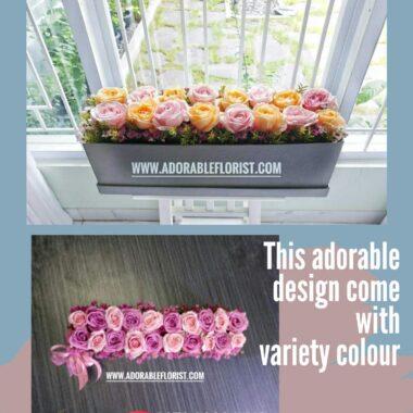 rangkaian bunga untuk pacar