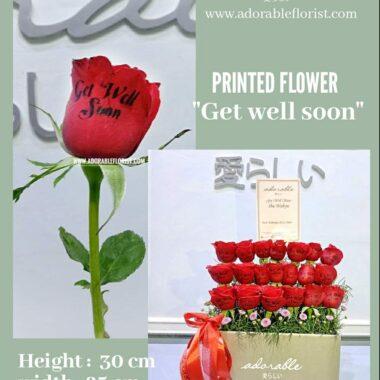 karangan bunga printing