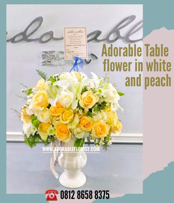 bunga untuk meja kantor