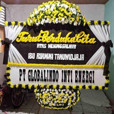papan bunga pernikahan lucu