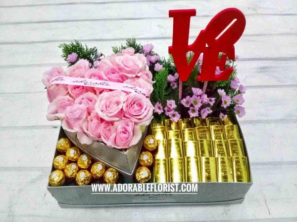 jual bunga valentine jakarta